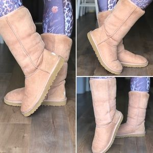 UGG boots warm boots light brown boots